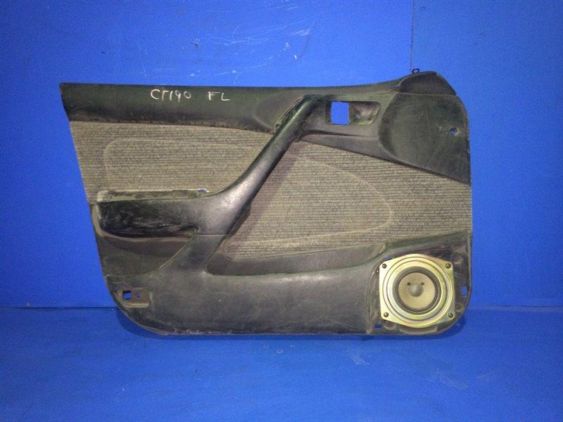 Обшивка дверей Toyota Corona ST191 передняя левая (б/у)