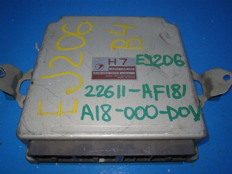 Блок efi Subaru Legacy BH5 EJ206 (б/у)