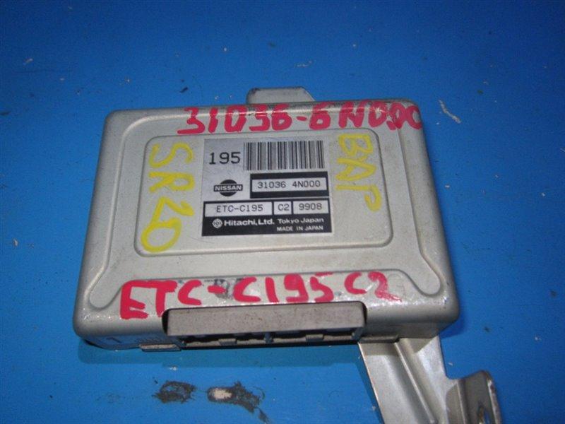 Блок efi Nissan Bluebird HU14 SR20DE (б/у)