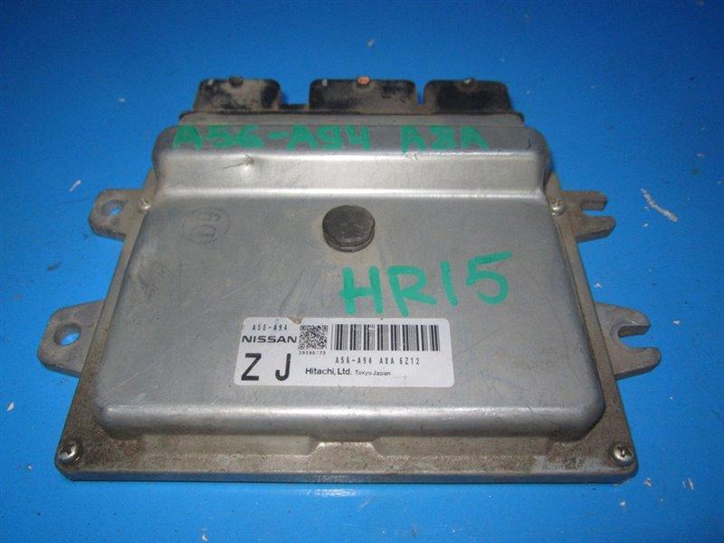 Блок efi Nissan Note E11 HR15DE (б/у)