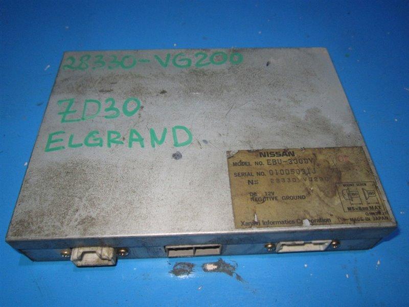 Блок efi Nissan Elgrand E50 ZD30 (б/у)