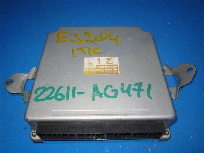 Блок efi Subaru Legacy BE5 EJ204 (б/у)