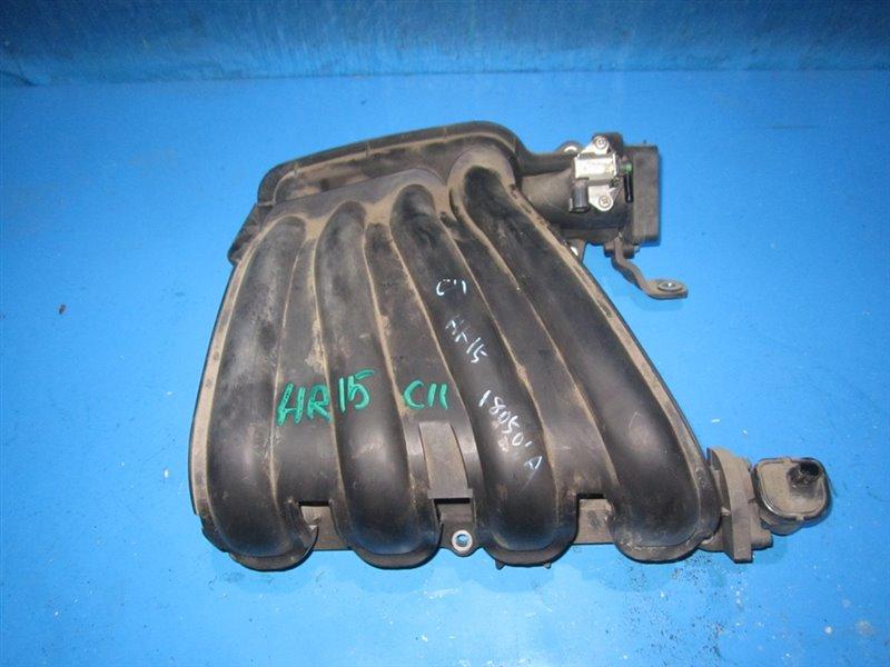 Коллектор впускной Nissan Tiida C11 HR15DE (б/у)