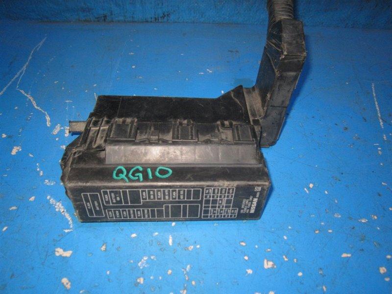 Блок предохранителей Nissan Bluebird Sylphy QG10 (б/у)
