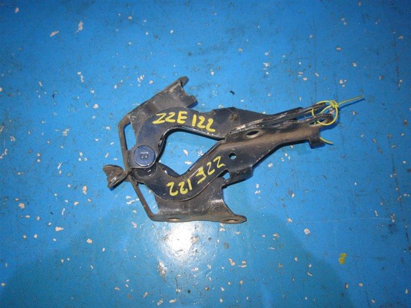 Петля капота Toyota Allex ZZE120 передняя (б/у)