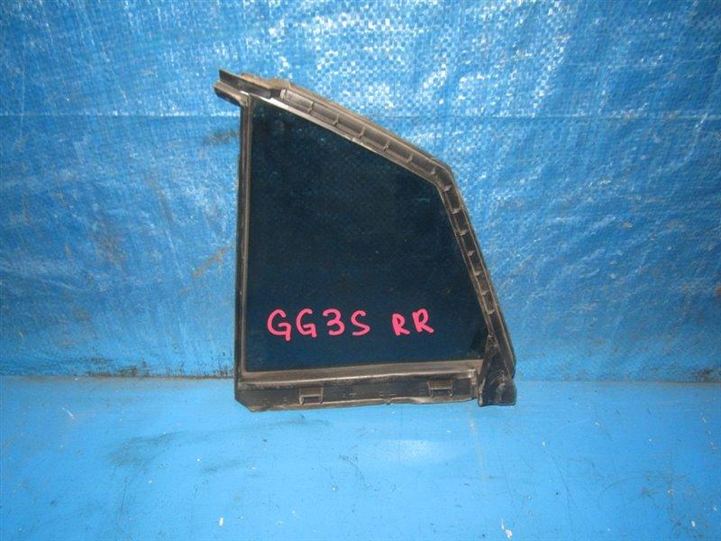 Форточка двери Mazda Atenza GG3S задняя правая (б/у)