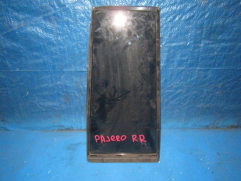 Форточка двери Mitsubishi Pajero Io H61W задняя правая (б/у)