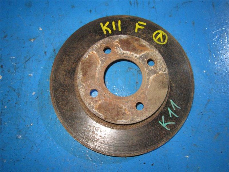 Тормозной диск Nissan March K11 передний (б/у)