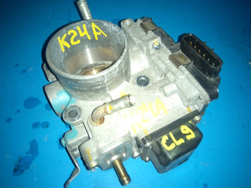 Дроссельная заслонка Honda Accord CL9 K24A (б/у)