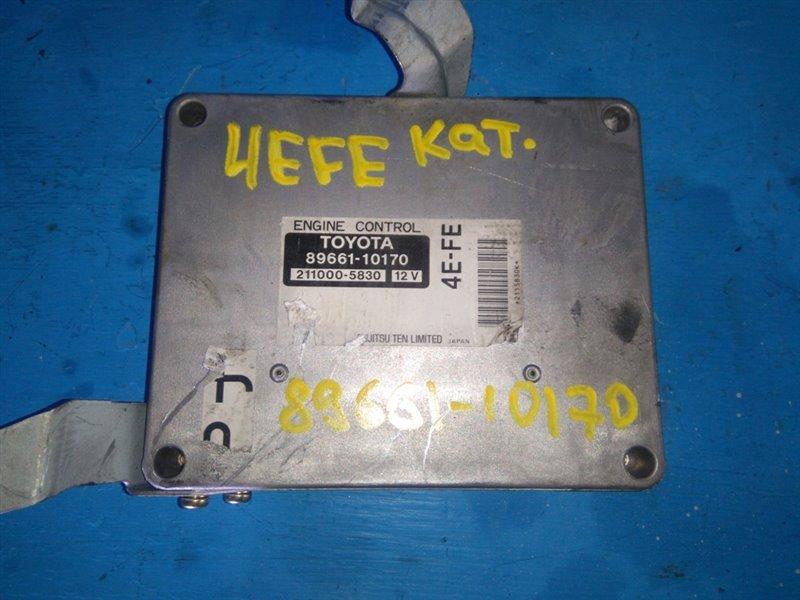 Блок efi Toyota Starlet EP91 4EFE (б/у)