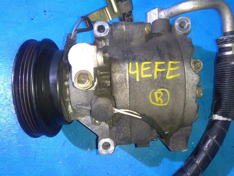 Компрессор кондиционера Toyota Starlet EP91 4EFE (б/у)