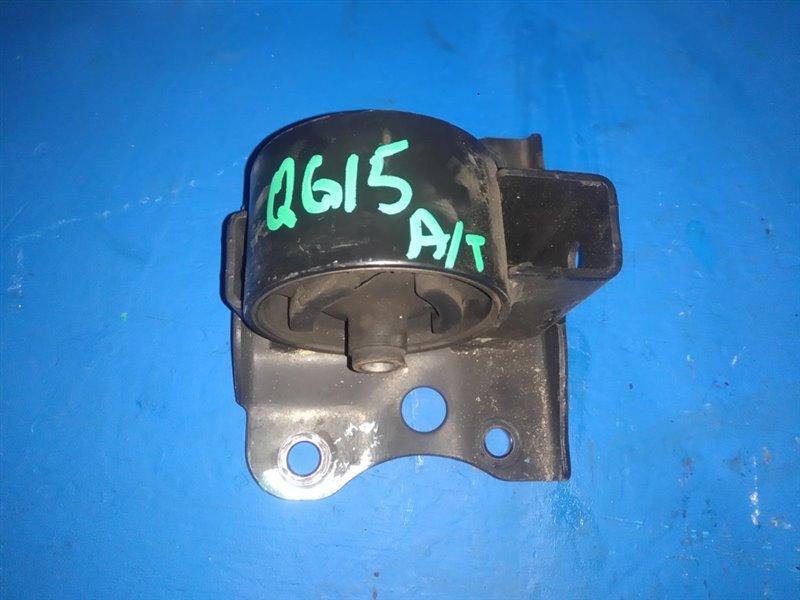 Подушка кпп Nissan Bluebird Sylphy FG10 QG15DE (б/у)