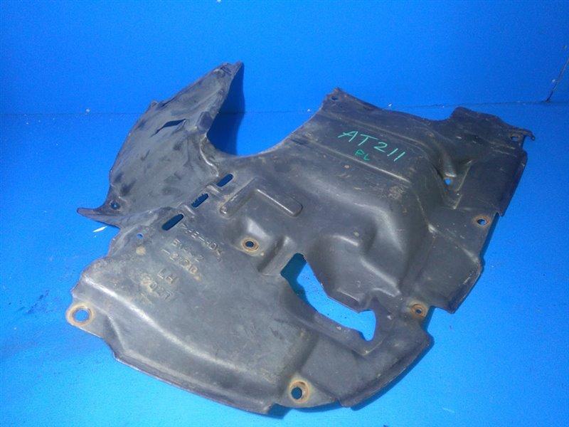 Защита двигателя Toyota Carina AT212 передняя левая (б/у)