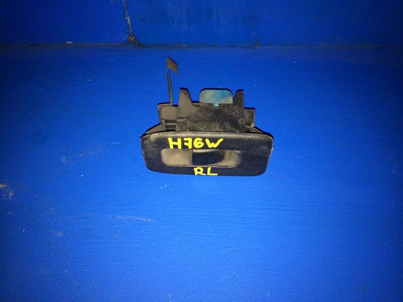 Кнопка стеклоподъемника Mitsubishi Pajero Io H61W задняя левая (б/у)