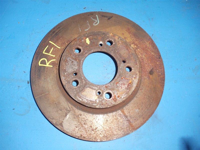 Тормозной диск Honda Step Wagon RF1 передний (б/у)