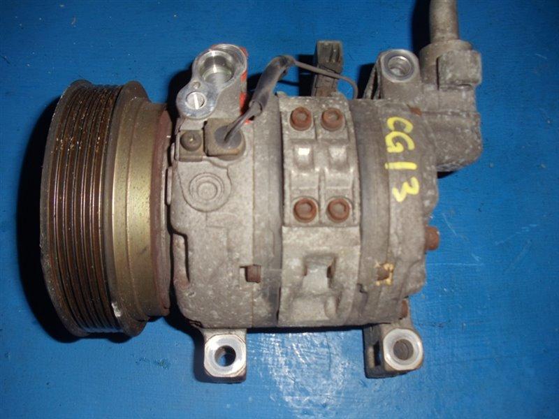Компрессор кондиционера Nissan March K11 CG13DE (б/у)