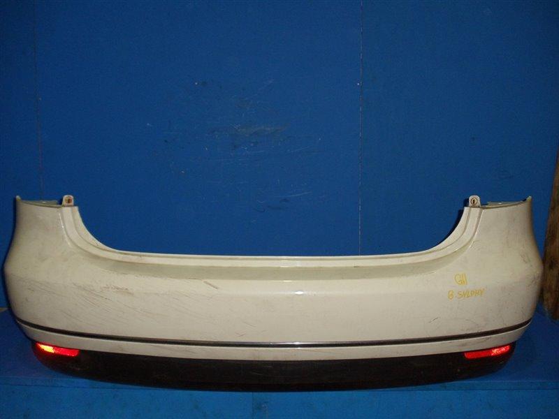 Бампер Nissan Bluebird Sylphy G11 2005 задний (б/у)
