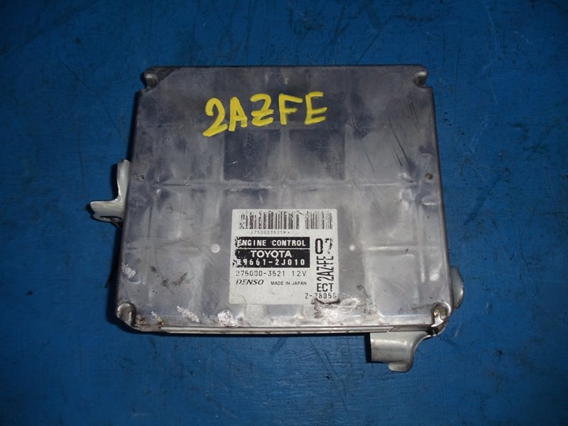 Блок efi Toyota Estima ACR30 2AZFE (б/у)