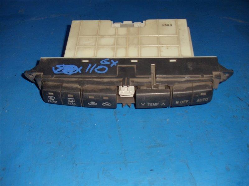 Блок климат-контроля Toyota Mark Ii GX110 2002 (б/у)
