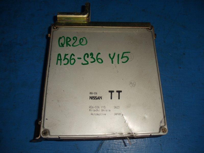 Блок efi Nissan Serena TC24 QR20DE (б/у)