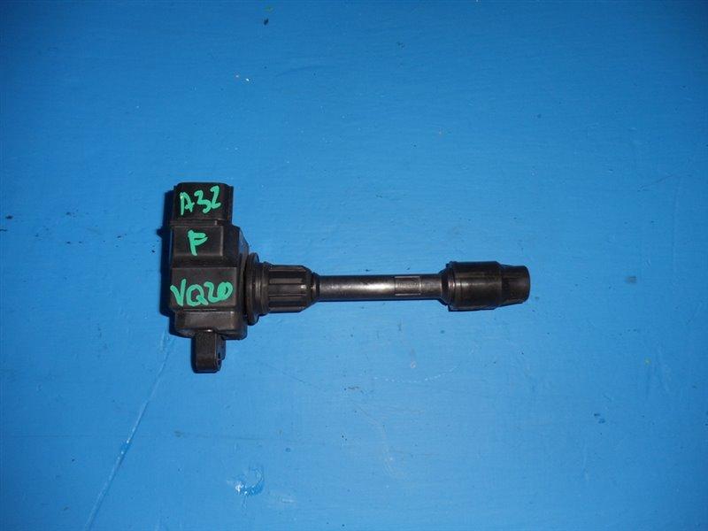 Катушка зажигания Nissan Cefiro A32 VQ20DE передняя (б/у)