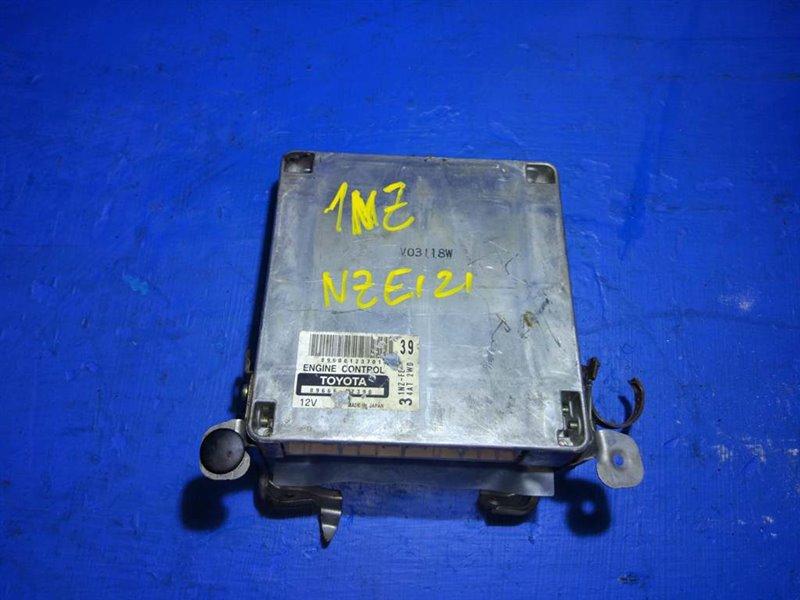 Блок efi Toyota Allex NZE121 1NZFE (б/у)