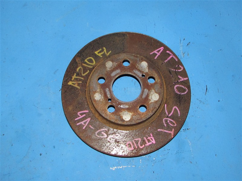 Тормозной диск Toyota Caldina AT190 передний (б/у)