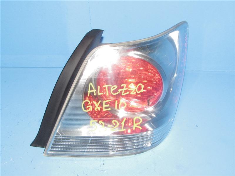 Стоп-сигнал Toyota Altezza SXE10 задний правый (б/у)
