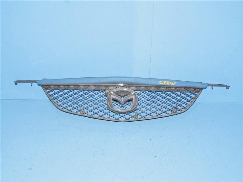 Решетка радиатора Mazda Premacy CP8W 04.1999 передняя (б/у)