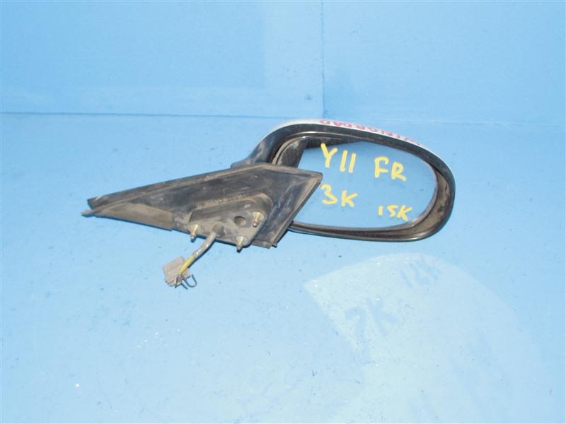 Зеркало Nissan Wingroad WFY11 переднее правое (б/у)