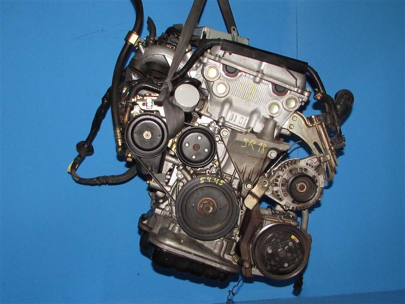 Двигатель Nissan Blubird EU13 SR18DE 1995 (б/у)