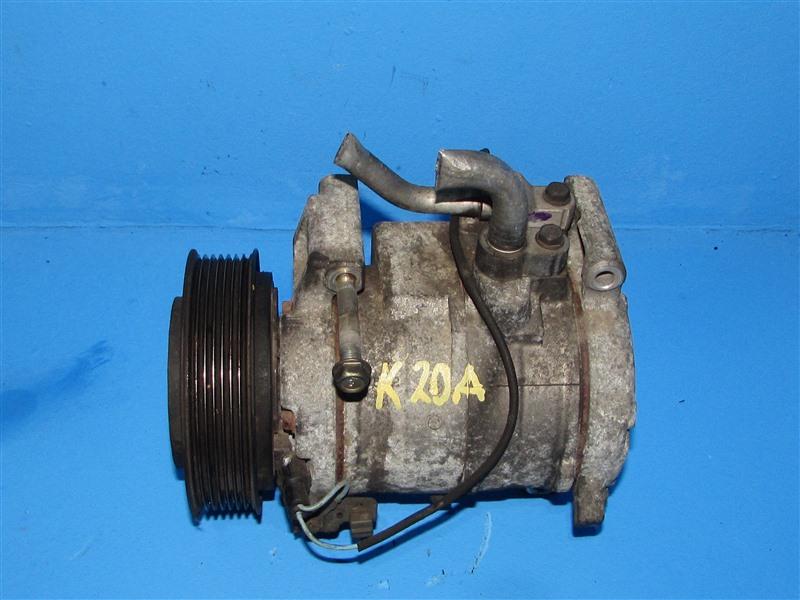 Компрессор кондиционера Honda Step Wagon RF3 K20A 2001 (б/у)