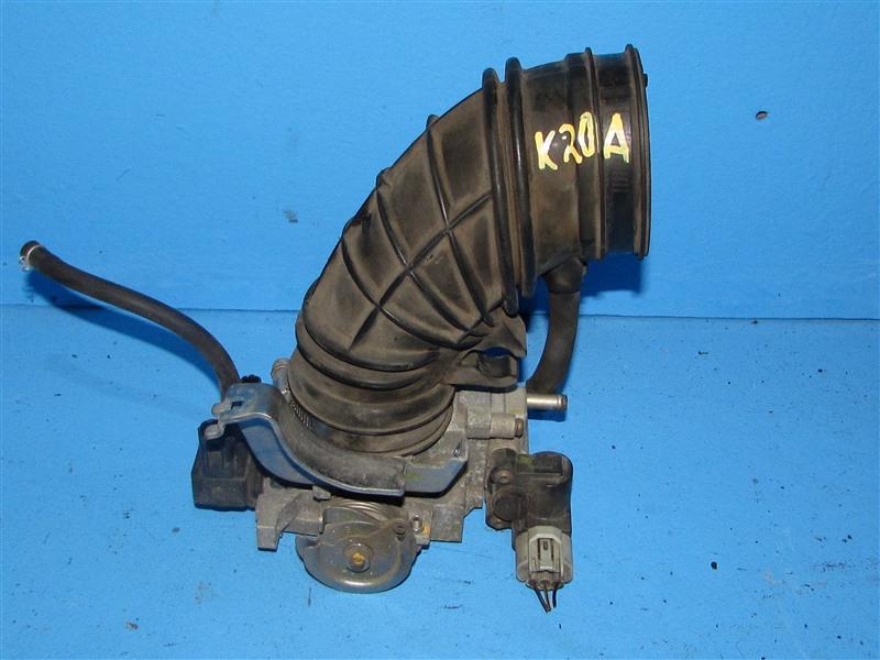 Дроссельная заслонка Honda Edix BE3 K20A 2004 (б/у)