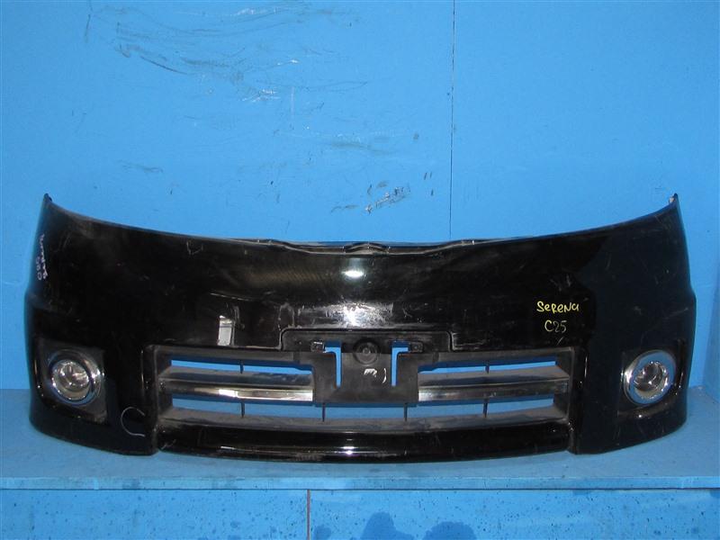 Бампер Nissan Serena C25 05.2005 передний (б/у)