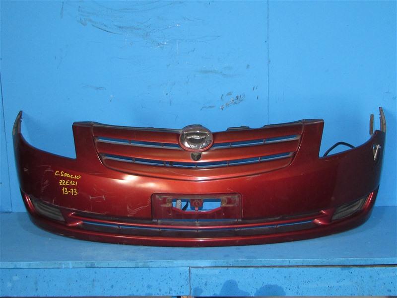 Бампер Toyota Corolla Spacio ZZE122 04.2003 передний (б/у)