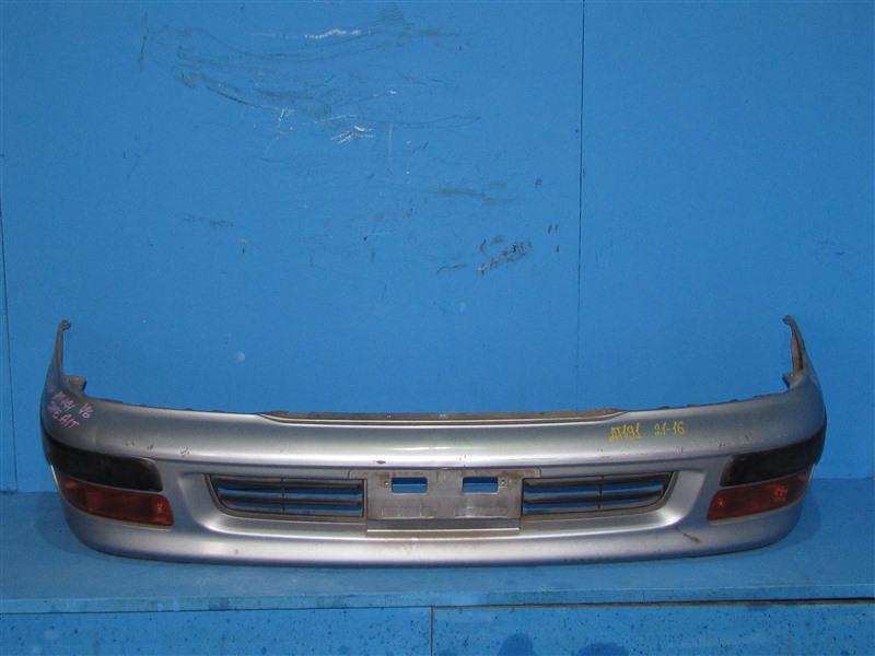 Бампер Toyota Caldina ST191 4A-FE 01.1996 передний (б/у)