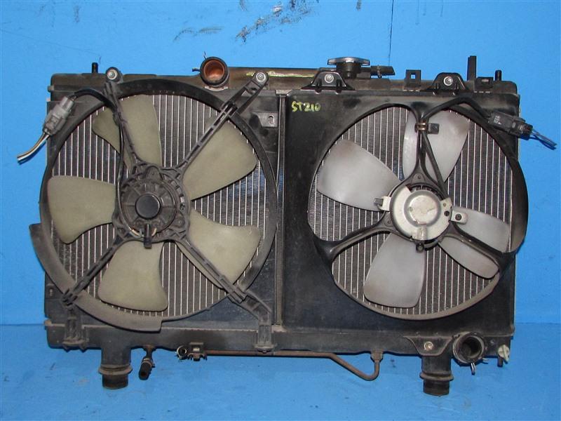Радиатор основной Toyota Caldina ST195 3SFE 2000 (б/у)