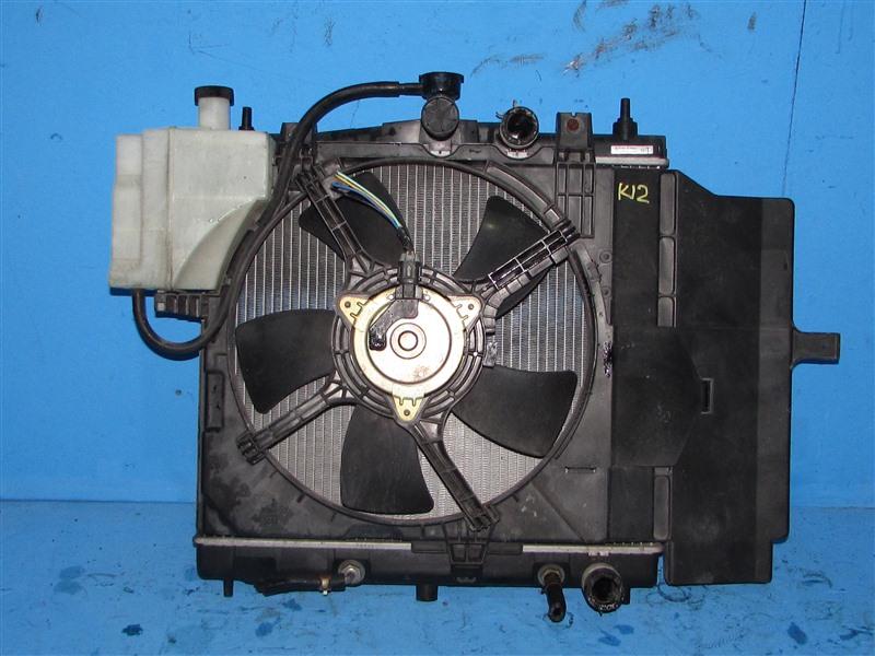 Радиатор основной Nissan Cube AK12 CR12DE (б/у)