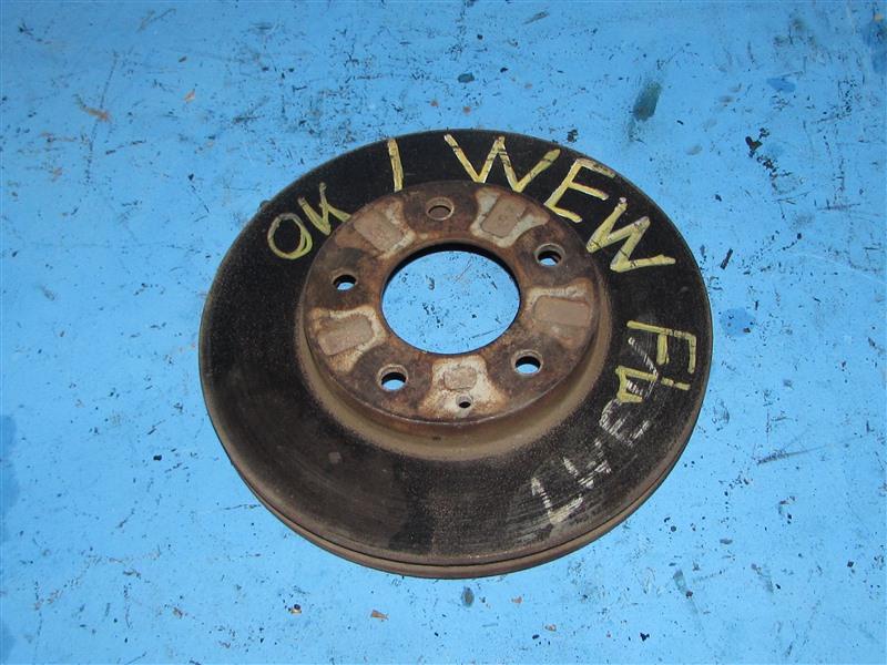 Тормозной диск Mazda Mpv LWEW передний (б/у)