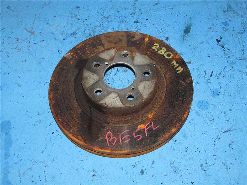Тормозной диск Subaru Legacy BE5 передний (б/у)