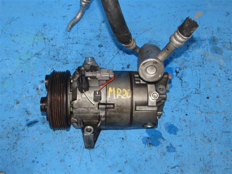 Компрессор кондиционера Nissan Bluebird Sylphy KG11 MR20DE (б/у)