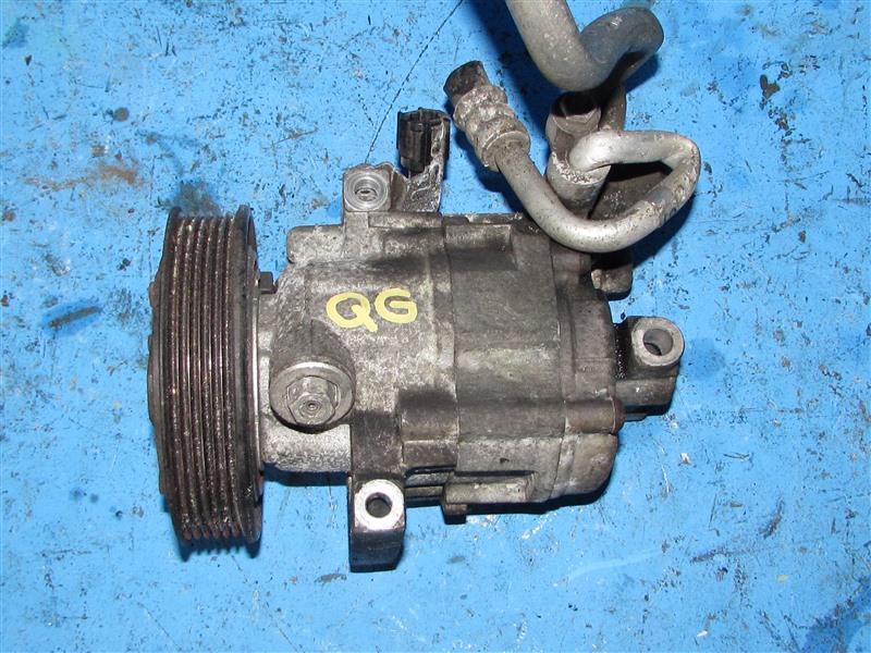 Компрессор кондиционера Nissan Bluebird Sylphy QG10 QG18DE (б/у)