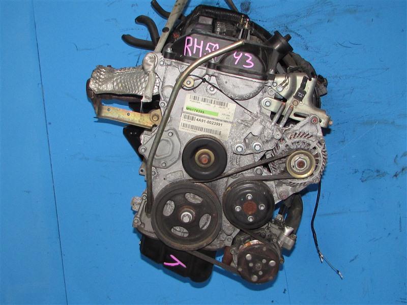 Двигатель Mitsubishi Lancer X CY2A 4A91 (б/у)