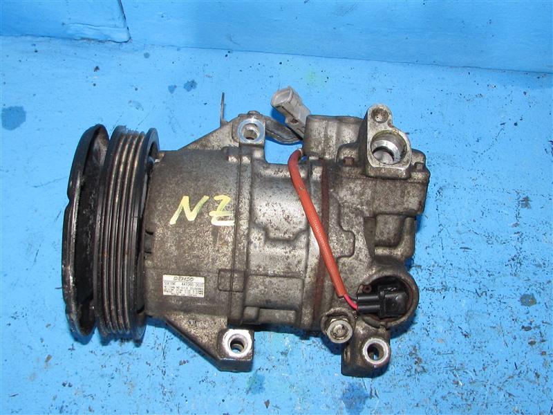 Компрессор кондиционера Toyota Ist NCP60 1NZFE (б/у)