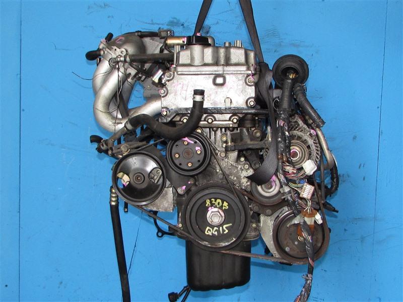 Двигатель Nissan Sunny B15 QG15DE (б/у)
