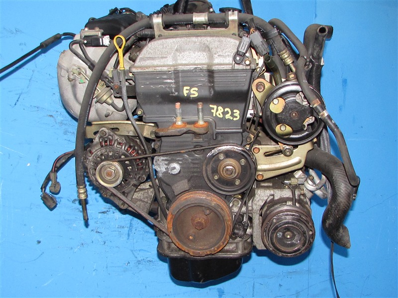 Двигатель Mazda Mpv LWEW FS (б/у)