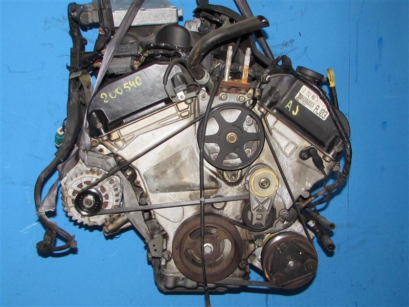 Двигатель Mazda Mpv LWFW AJ (б/у)