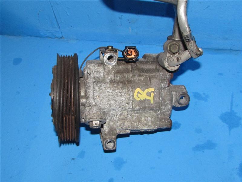 Компрессор кондиционера Nissan Bluebird Sylphy FG10 QG18DE (б/у)