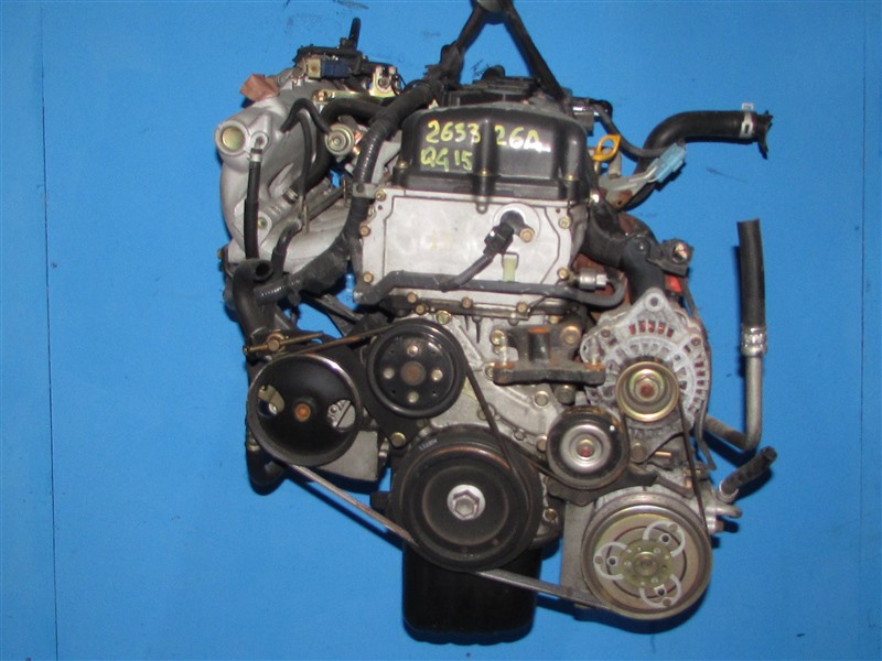Двигатель Nissan Sunny FB15 QG15DE (б/у)