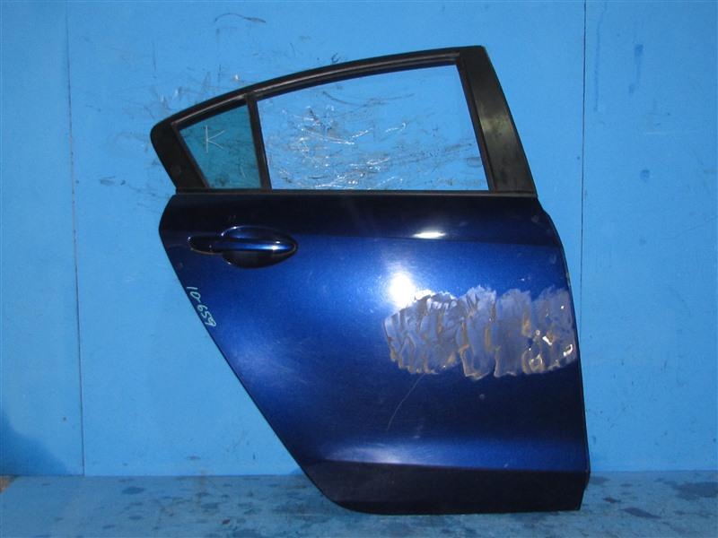 Дверь Mazda Axella BL6FJ Z6 задняя правая (б/у)
